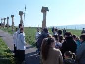 Krížová cesta na Veľký piatok Babín - 18. apríl 2014