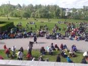 Púť rádia Lumen - Krakov - 10. máj 2014